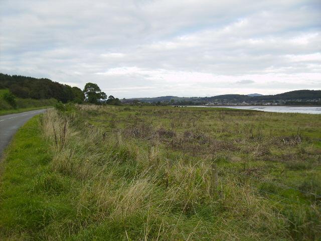 Banks of the Dee estuary near to Kirkcudbright