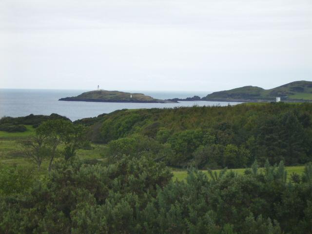 Little Ross - both lighthouses can be seen