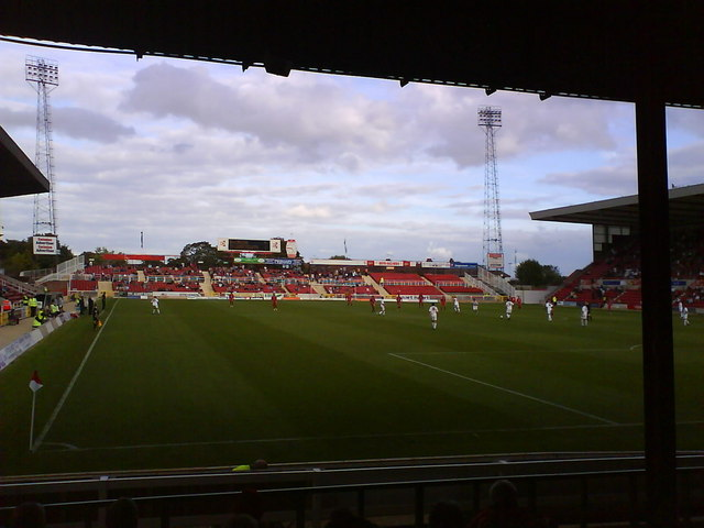 The Mecca; home to Swindon Town FC