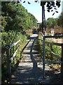 NO7496 : Old Deeside Railway route by Stanley Howe
