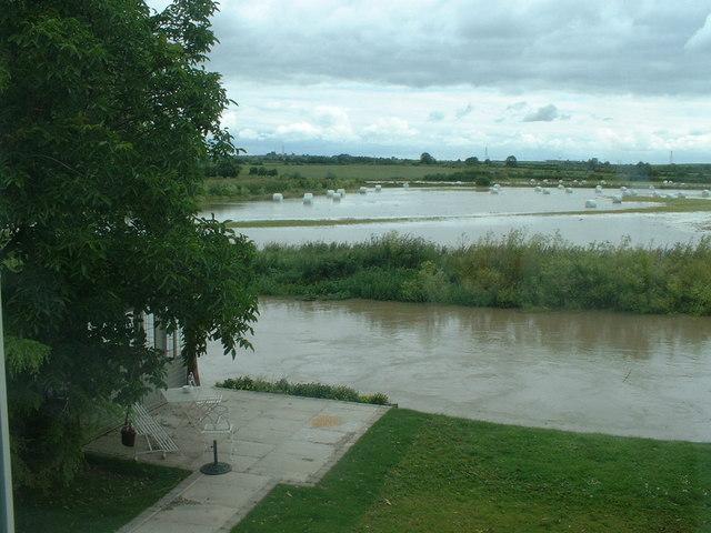 June 2007, Floods at Long Bennington