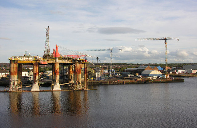 Former Readhead shipyard, South Shields