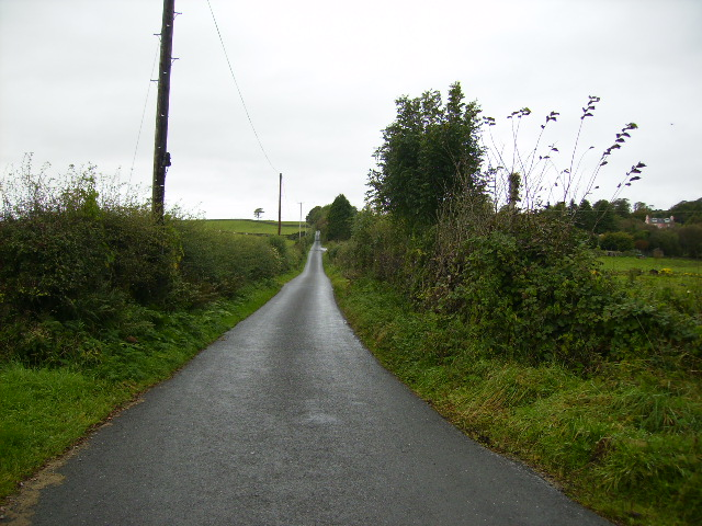 Road up to Bengairn House