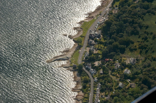 Corrie from the air