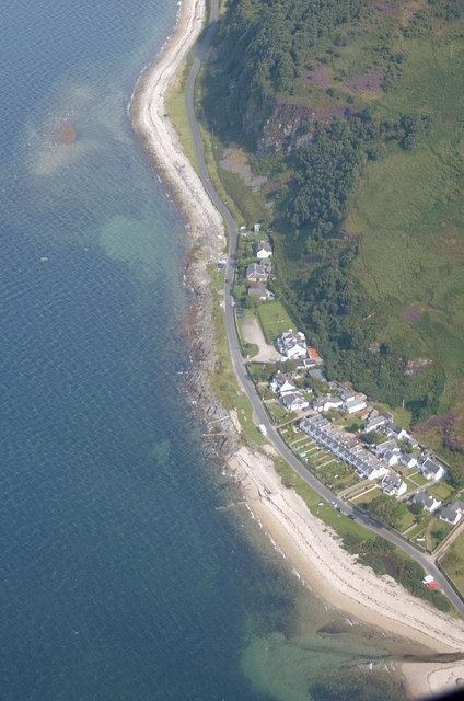 Catacol from the air