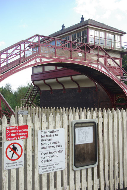 Haltwhistle Station