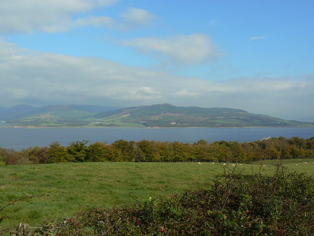 Rothesay, View over Bogany Wood