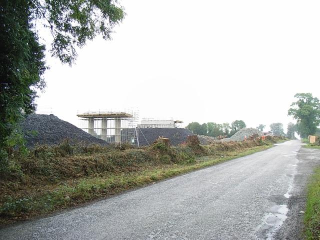 Durhamstown Road Overbridge Construction