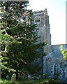 SX5548 : Newton Ferrers - Holy Cross Church by Chris Talbot