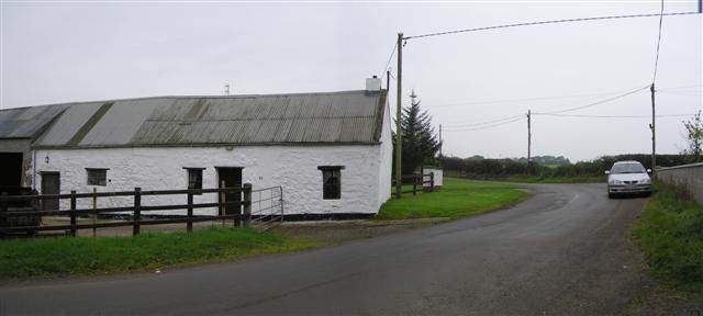 Road near Bellaghy