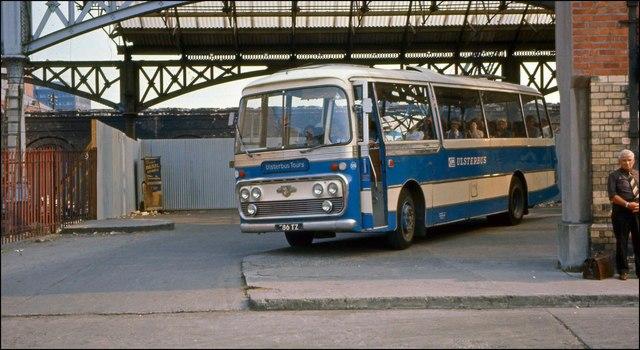 Gt Victoria Street bus station, Belfast