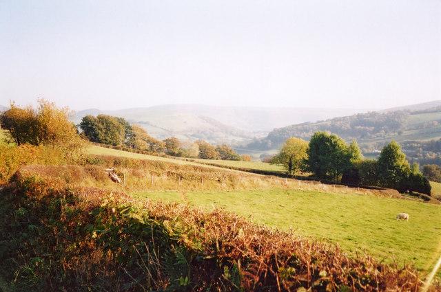 Severn Way above Cefnmawr