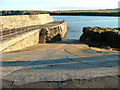 NB5363 : Slipway and Pier at Port Nis by Dave Fergusson