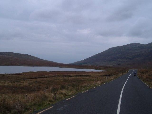 Road to Glencolumbkille looking towards Kilcar