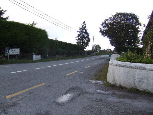 The Letter Cross Roads