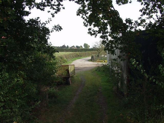 Offa's Dyke LDP goes down Parson's Lane