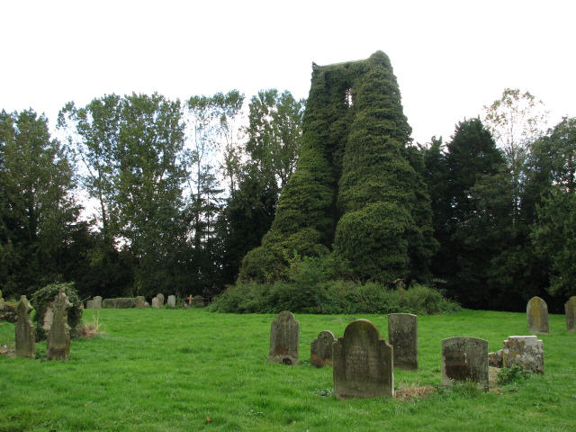 St George's ruin and cemetery