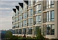 J3473 : Apartments, St George's Harbour, Belfast by Albert Bridge