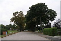 SE4422 : Entrance to Pontefract Park by Betty Longbottom