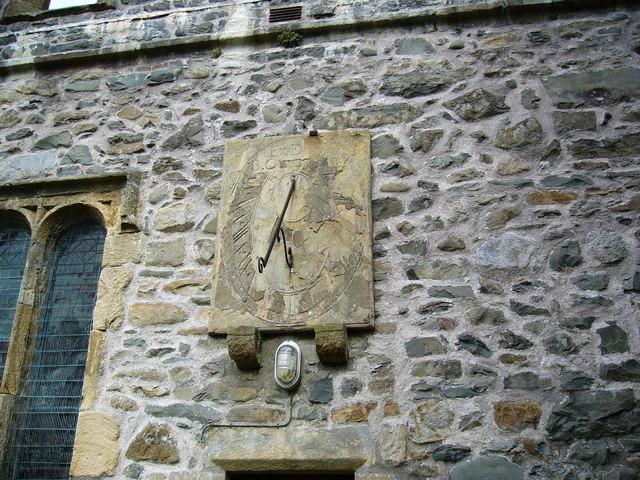 Sundial, St. Andrews Parish Church