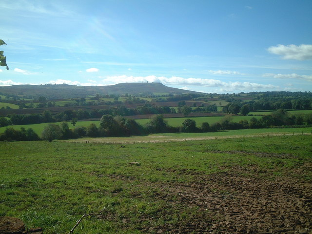 Countryside towards Clee Hill