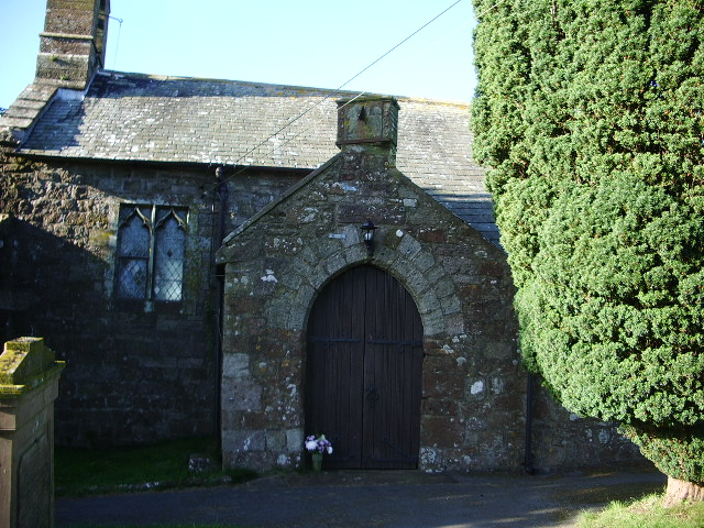The Parish Church of St Mary, Gilcrux, Porch