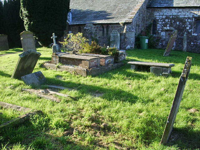 The Parish Church of St Mary, Gilcrux, Graveyard
