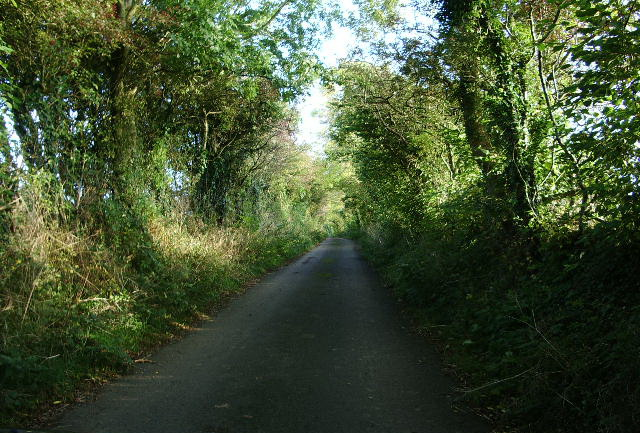 The road from Gilcrux to Tallentire Hill