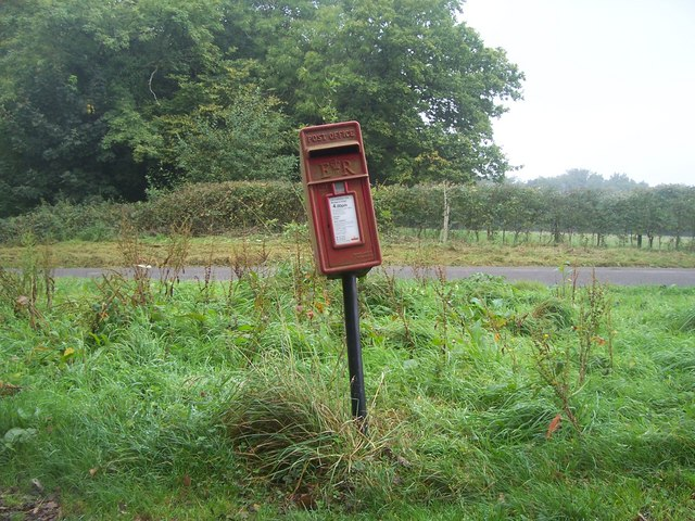 Postbox on Broad Way, Froxfield