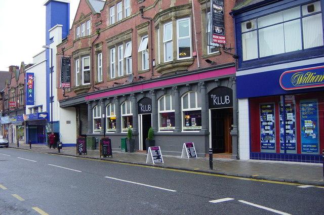 'The Klub', High Street West, Wallsend
