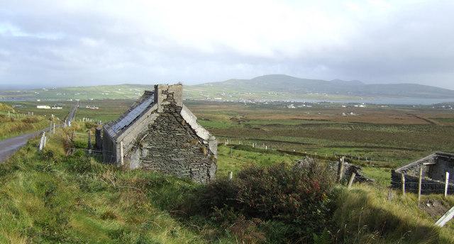 Old cottage at Coonanaspig