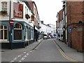 SP7387 : Church Street, Market Harborough by Mat Fascione