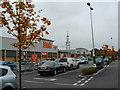 NY4154 : B&Q car park, Carlisle by Darrin Antrobus