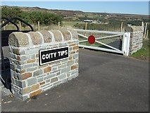 SO2308 : Coity Tip Trail, South Eastern Entrance by Kev Griffin