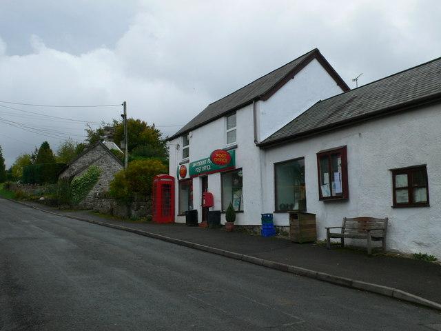 Post Office, Llandegla