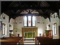 NY2323 : St Hubert's Church, Braithwaite, Interior by Alexander P Kapp