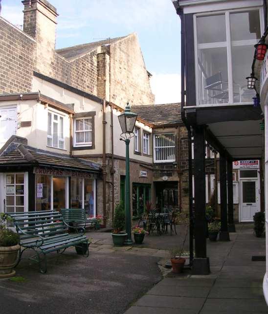 Queen's Court - off Main Street