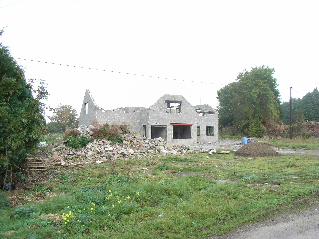 New House Under Construction at Rataine, Co. Meath