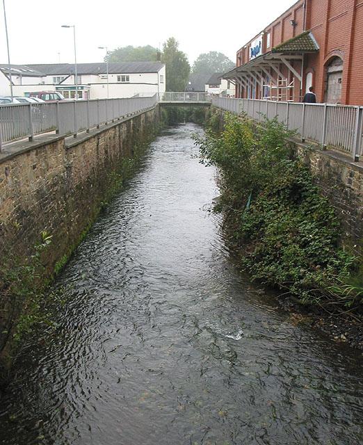 River Lyd, running through Lydney