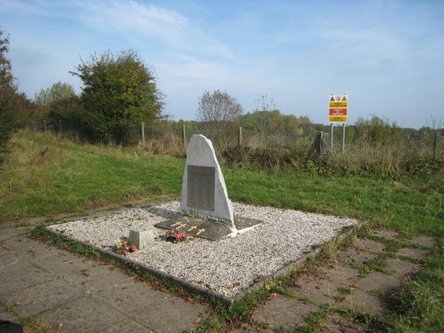Fauld explosion memorial