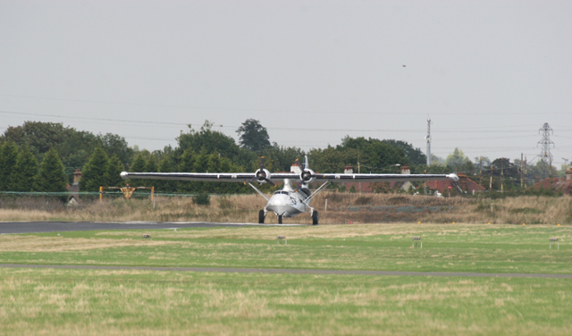 Catalina on Runway 24