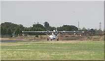 TQ8789 : Catalina on Runway 24 by terry joyce