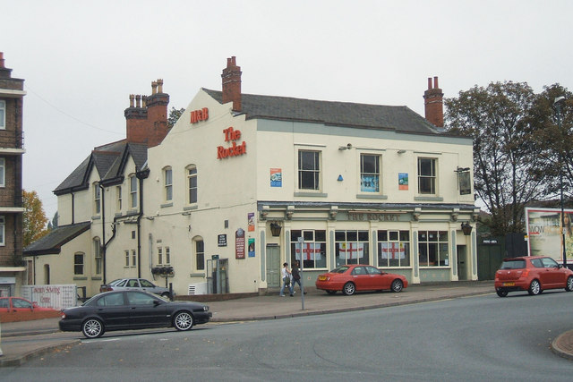 The Rocket Public House, Warwick Road