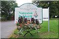SP3184 : Local Authority Boundary Sign, Keresley Village by Niki Walton
