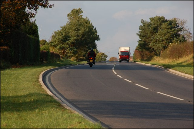 The Carryduff Road near Boardmills