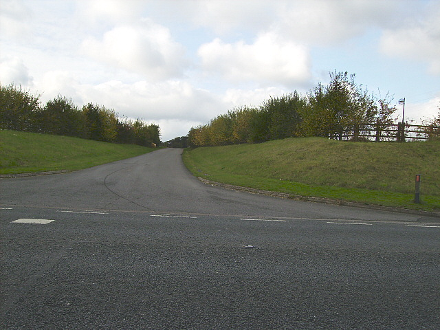 Track just off the A15 road to Staniwells
