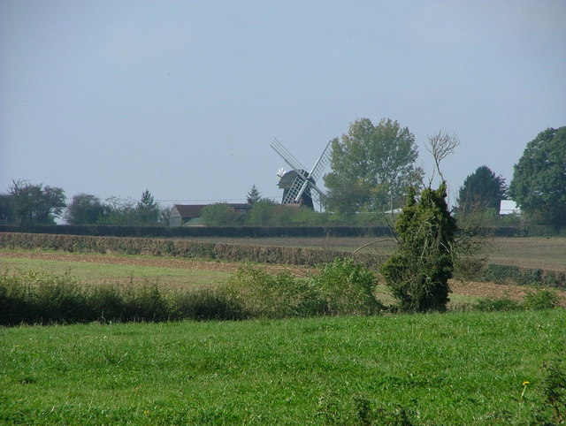 Lacy Green Windmill from Grimms Ditch