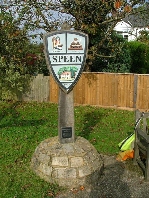 Speen village sign