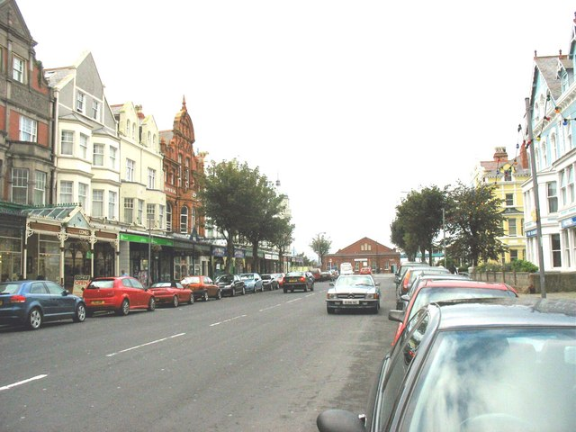 Vaughan Street, Llandudno by Eric Jones