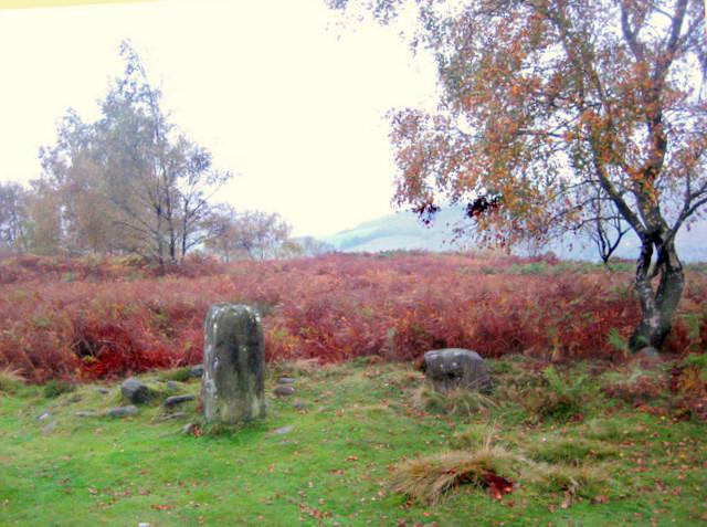 The main stone in Froggatt Stone Circle